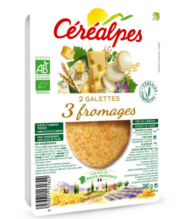 galettes fines 3 fromages