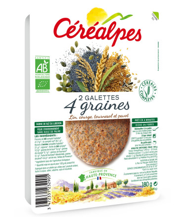 galettes fines 4 graines