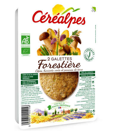 galettes fines forestière