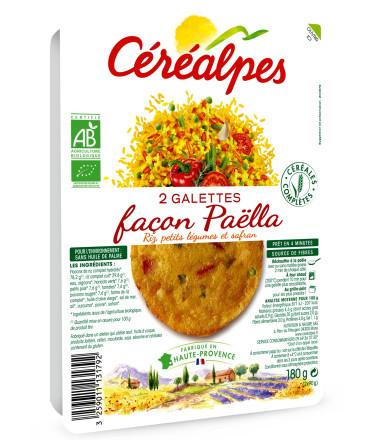 galettes fines paella