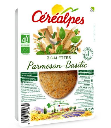 galettes fines parmesan basilic