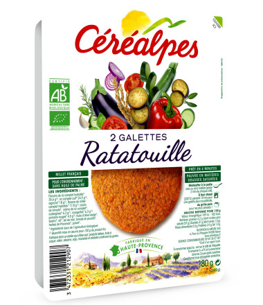 galettes fines ratatouille