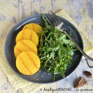 tranches polenta grill+®es 1